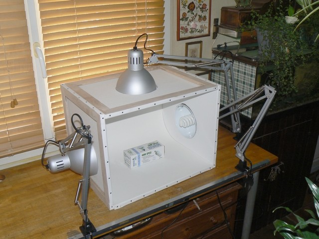light box - Fabriquer sa light box 8b10