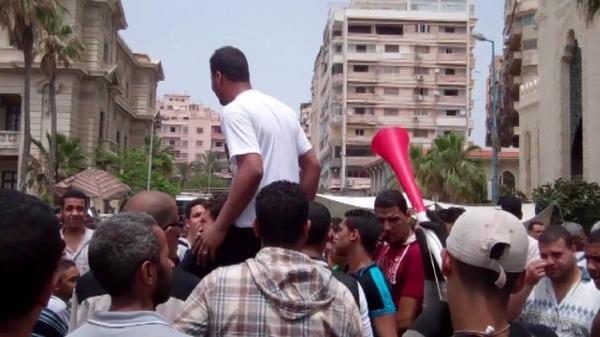 مظاهرات بالإسكندرية  3b61ce10