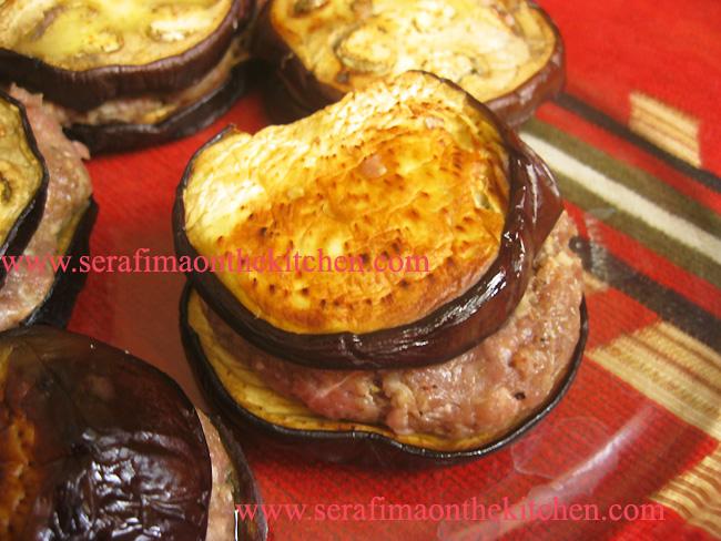 Мсакка (2 вариант)- баклажаны с мясом Pictur43