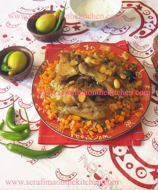 Mandi riсe. Манди рис. Подкопченые рис с курицей. Арабская кухня. Кухня Саудовской Аравии Pictur48