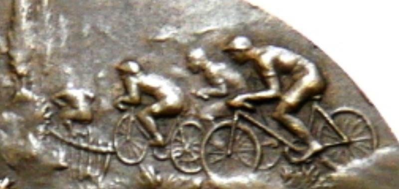 Médaille sport cycliste Captur10