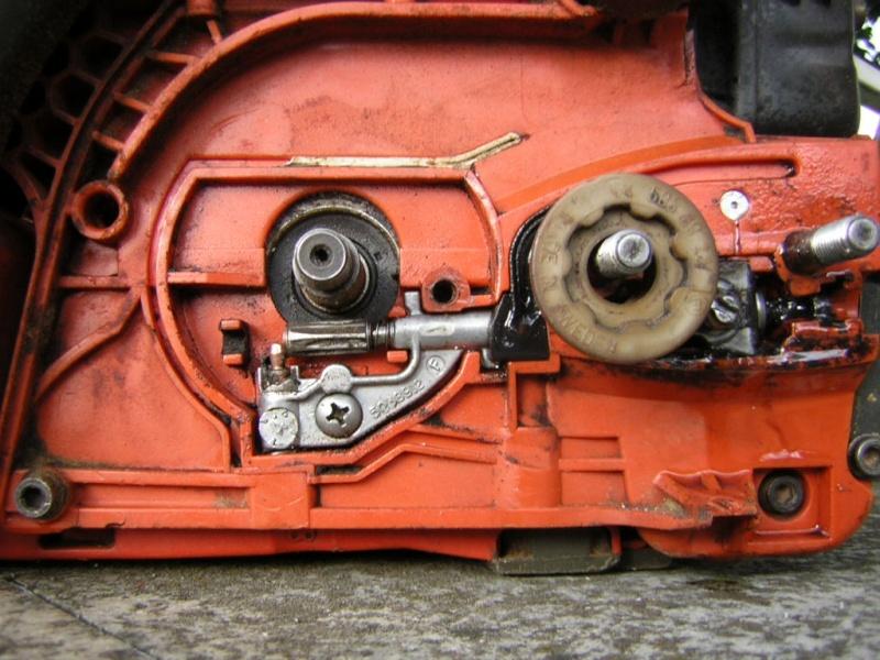 Pompa olio Husqvarna 345 Dscn0412