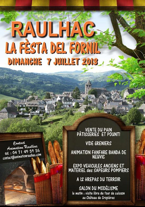 Mini Salon de Modelisme de Raulhac (Cantal) le 7 juillet 2013 Affich11