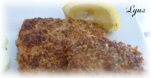 Filets de truite saumonée en croûte de noix Filet_11