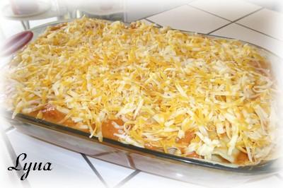 Lasagne florentine aux pâtes fraîches Lasagn11