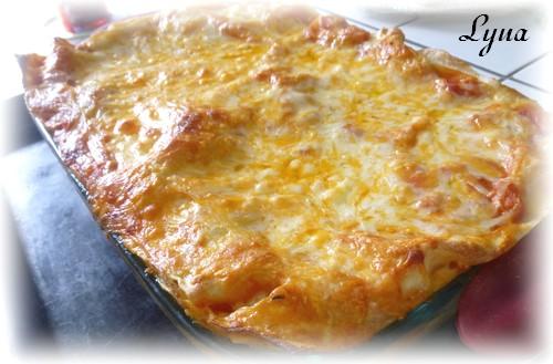 Lasagne florentine aux pâtes fraîches Lasagn12