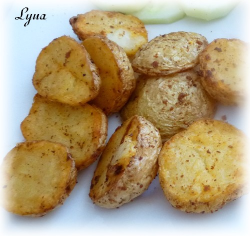 Petites pommes de terre rôties (actifry) Patate11