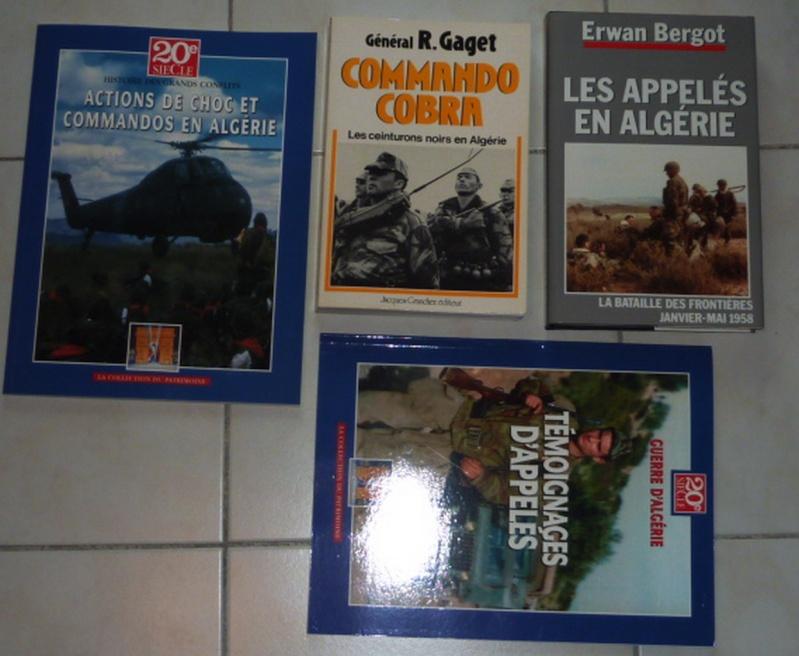 vente ou échange  contre uniforme de livres  militaire historiques  Algari11