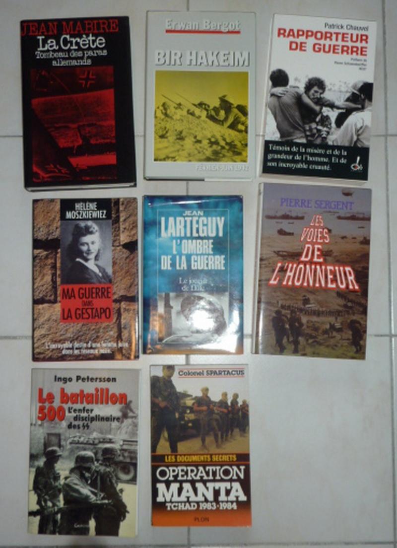 vente ou échange  contre uniforme de livres  militaire historiques  Litter11