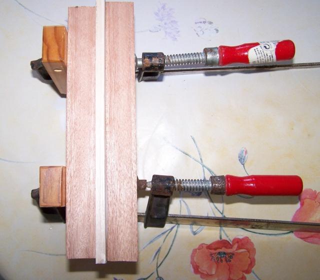 Fabrication d'un paddle Balsa.. Fabric10