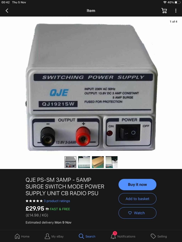 What size PSU / ampage  Ad9e3710