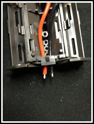 Souder les fils moteur sur la platine Prepa_13
