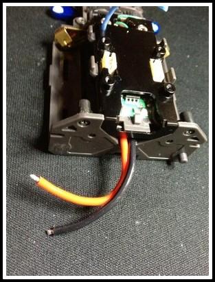 Souder les fils moteur sur la platine Prepa_14