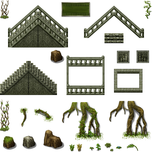 Tileset extérieur (arbres, ruines etc...) Celian14