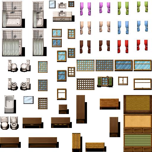 Tileset intérieur (boulangerie, château, école, etc...) Celian22