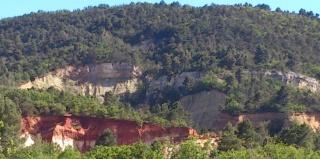 Balade dans le Colorado provençal - Rustrel (84) Week-218
