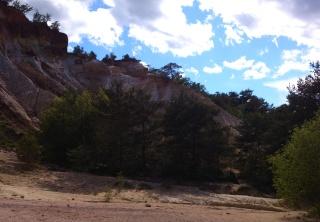 Balade dans le Colorado provençal - Rustrel (84) Week-231