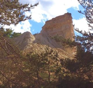 Balade dans le Colorado provençal - Rustrel (84) Week-235