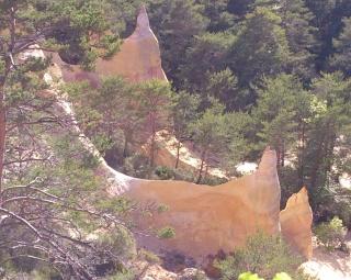 Balade dans le Colorado provençal - Rustrel (84) Week-268