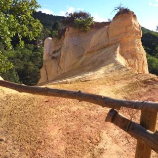 Balade dans le Colorado provençal - Rustrel (84) Week-270