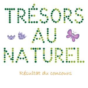 Résultat du concours Trésors au naturel Tresor10