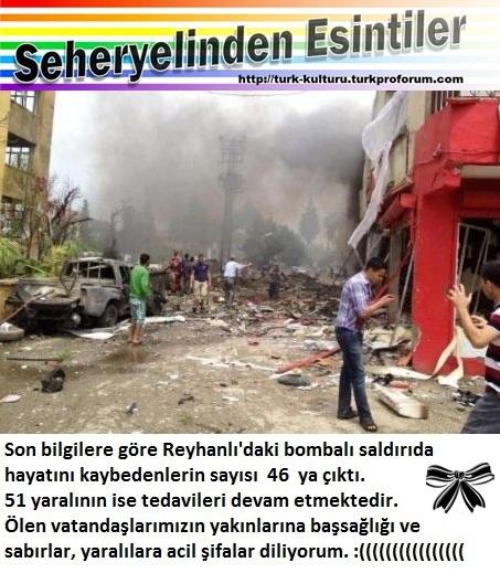 Hatay Reyhan`lı da  ölen vatandaşlarımız için üzgünüz(11.05.2013 ) Hatay-12
