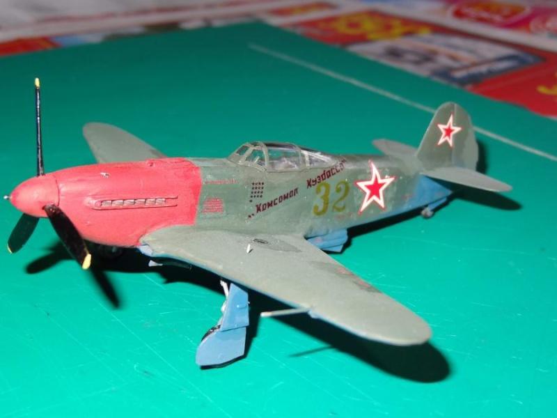 YAK-3 VK107A  marque A-MODEL - Page 2 15_yak11