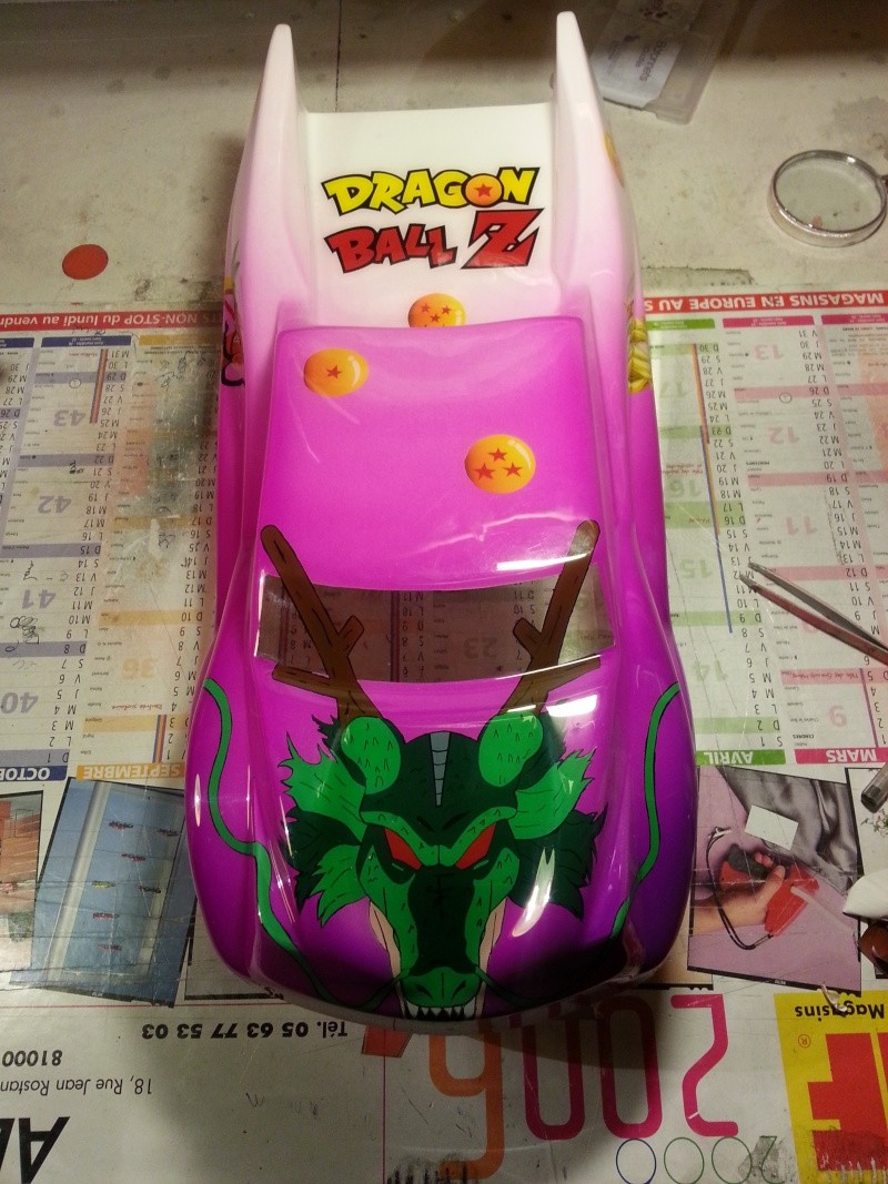 [vends]carrosserie rc8T aerographe dbz 20130310