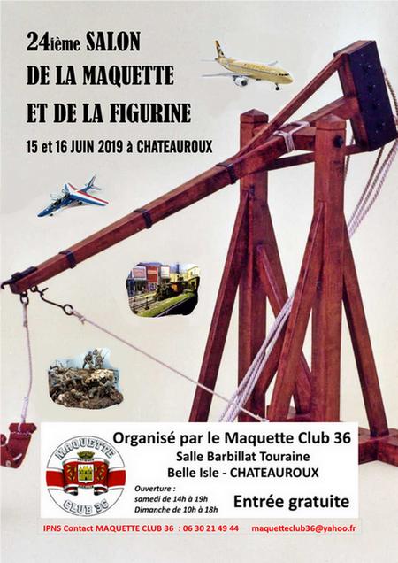 Châteauroux les 15 et 16 Juin 2019 Affich12