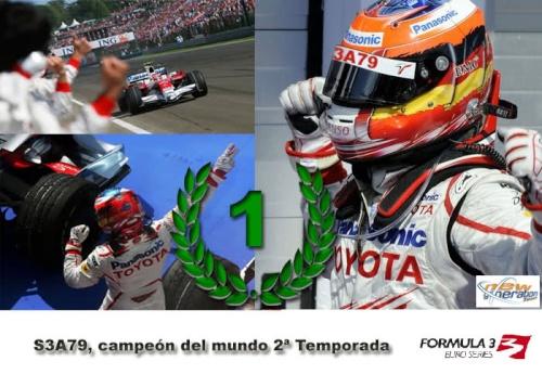 [F3] S3A79, campeón del mundo de Fórmula 3 13yo6m10