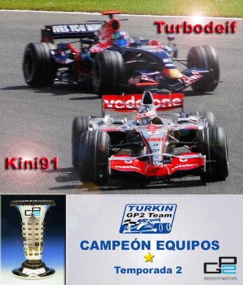 [GP2] Turkin GP2 Team campeón de equipos Atsro910