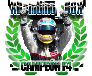 XBambino_88, campeón de F4 de la Temporada 7