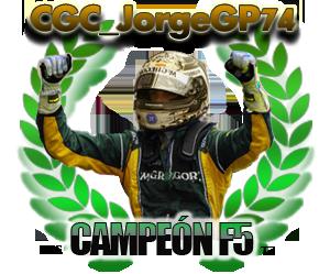 CGC_JorgeGP74, campeón de la F5 de la Temporada 7