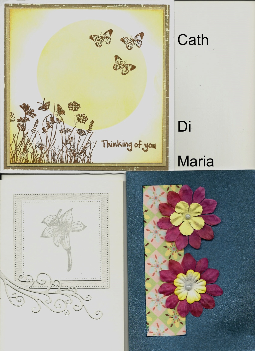 Thinking of you/condolences cards Condol10