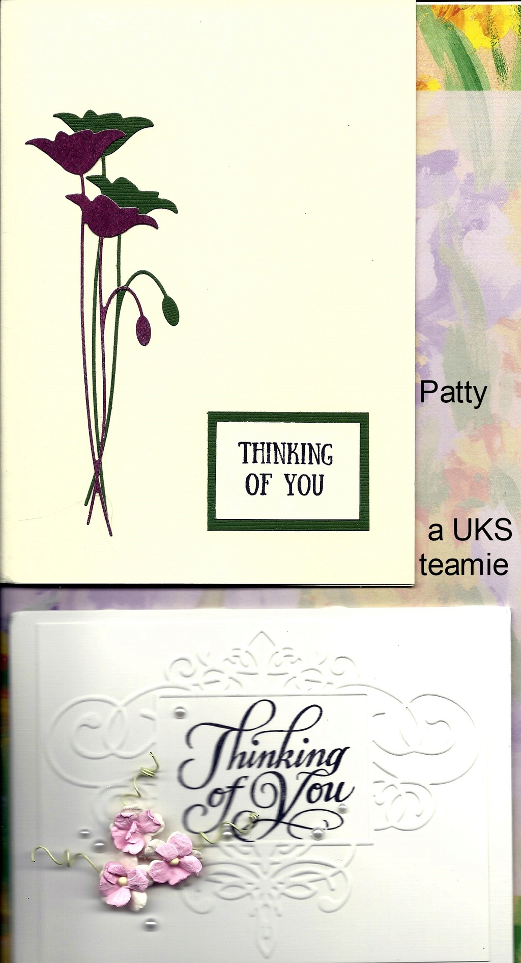 Thinking of you/condolences cards Condol11