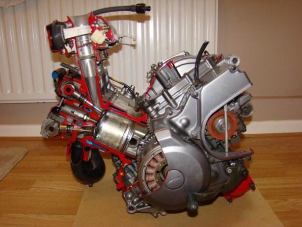 Ecorche moteur 750 001-6010