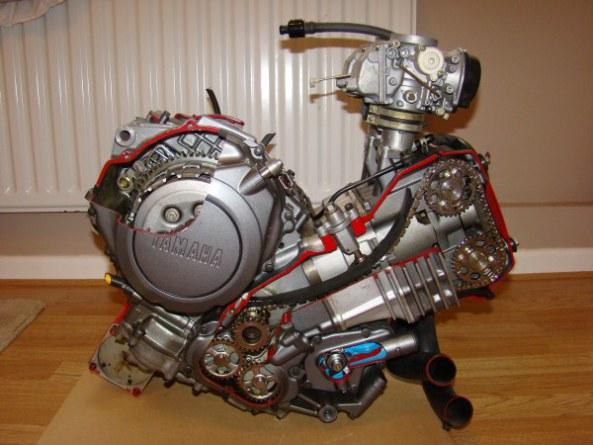 Ecorche moteur 750 002-6010