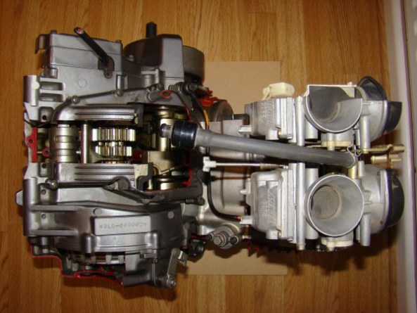 Ecorche moteur 750 004-6010