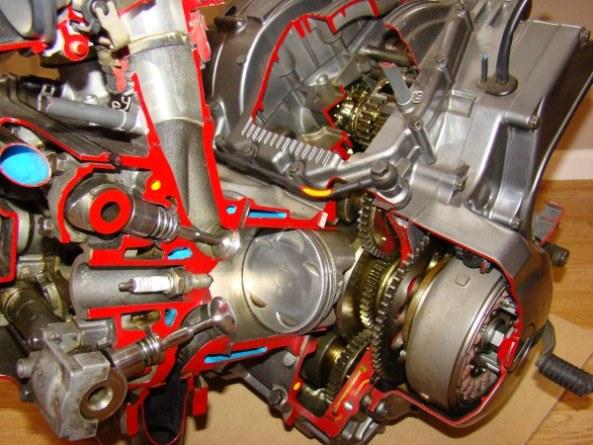 Ecorche moteur 750 006-6010