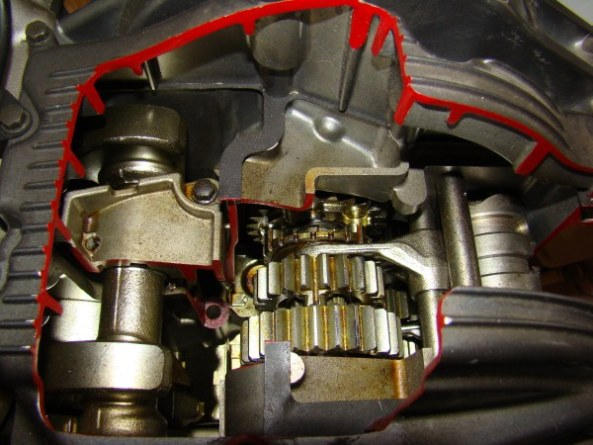 Ecorche moteur 750 007-6010