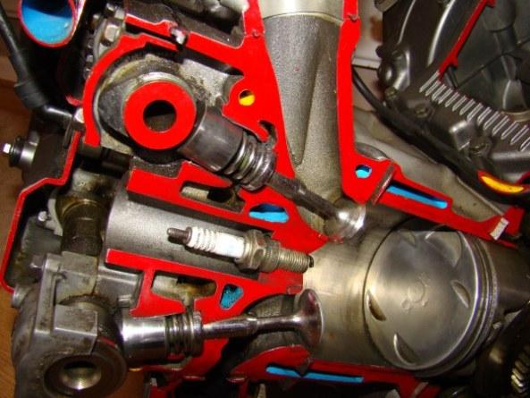 Ecorche moteur 750 008-6010