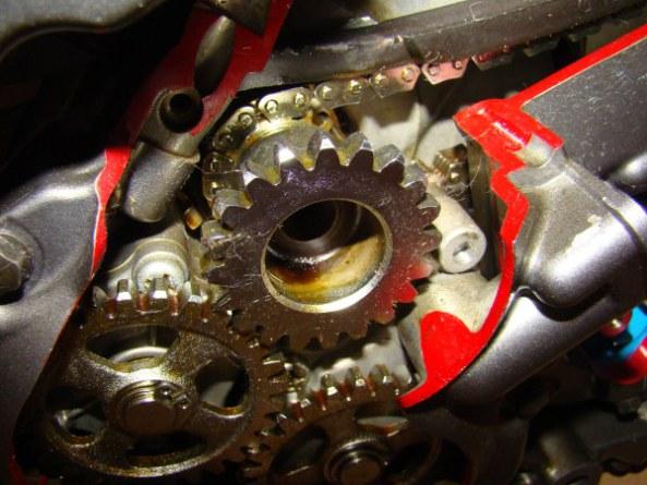 Ecorche moteur 750 011-6010