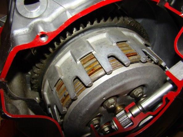 Ecorche moteur 750 012-6010