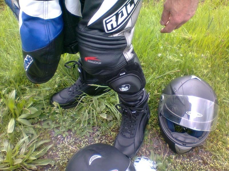 Sortie entachée par un frein avant de 750 XTZ défectueux !! Photo045