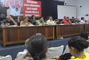 Amplio debate sobre ejercicio del periodismo en Matanzas Asambl10
