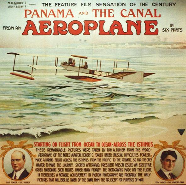 27 avril 1913 - Première traversée Pacifique à l'Atlantique par Robert G. Fowler 0019710
