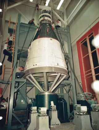 Programme Gemini (autres que les missions) - Rares Documents, Photos, et autres ... 1964_011