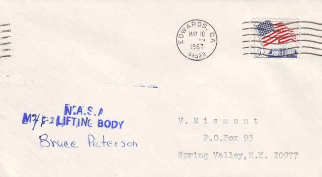 10 mai 1967 - Accident de Bruce Peterson à bord du M2-F2 1967_012