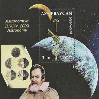 Historique de la philatélie spatiale de la République d'Azerbaïdjan 2009_a10