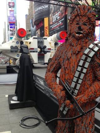 LEGO - X-Wing géant à New York 2c12b710
